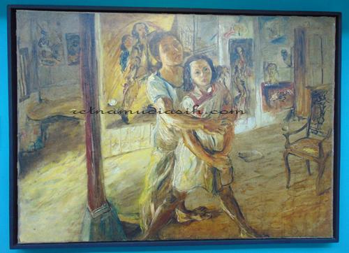 Harga Tiket Masuk Galeri Sang Maestro Di Museum Affandi
