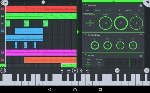 aplikasi cover lagu terbaik android fl studio mobile