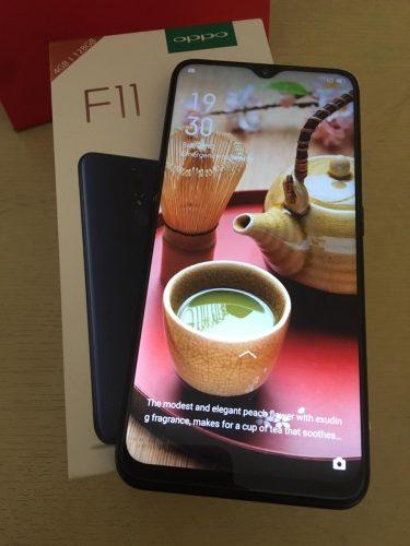 oppo f11 smartphone