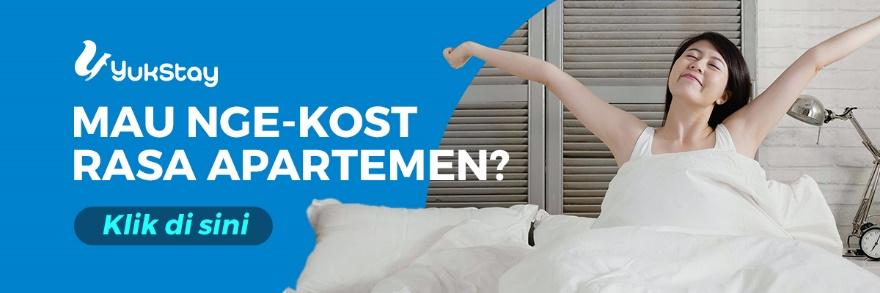 yuk stay ngekost rasa apartemen, tips ekonomis tinggal di apartemen